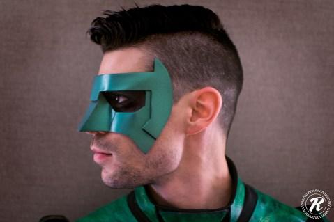 Green Lantern mask by Tiger Stone FX