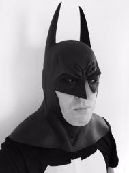 Lee Doran with Tiger Stone FX Arkham Asylum : City Batman cowl