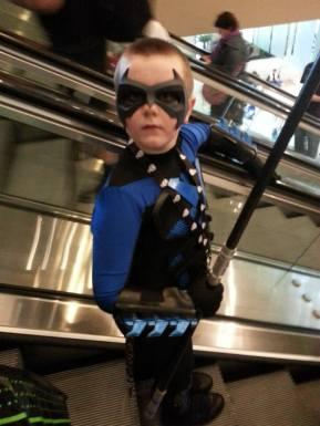 Still The Batman's little son