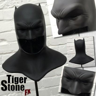 The Dark Knight Returns Frank Miller inspired Batman cowl by Tiger Stone FX