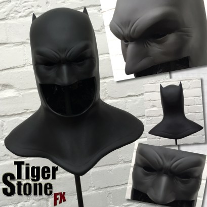 The Dark Knight Returns Frank Miller inspired Batman cowl by Tiger Stone FX