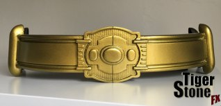 Batman 89 1989 Returns belt in gold by Tiger Stone FX