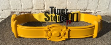 Batman 89 1989 Returns belt in yellow by Tiger Stone FX