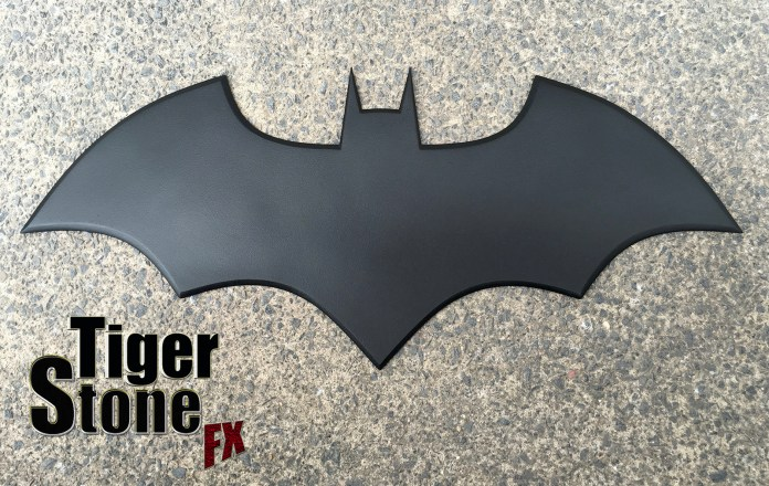 New 52 Batman inspired chest logo emblem by Tiger Stone FX