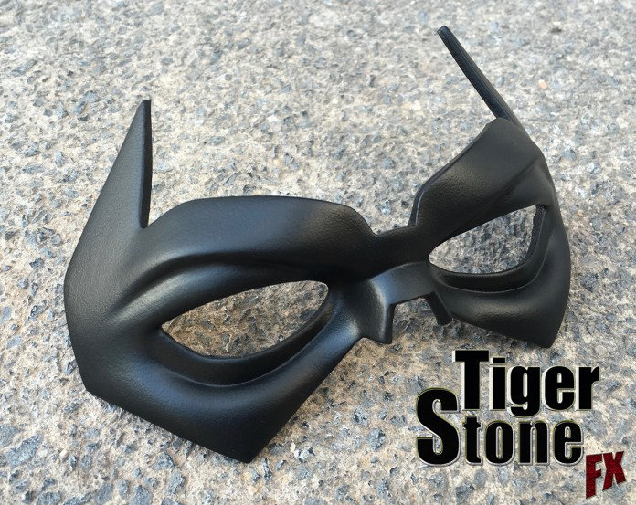 One Year Later Robin inspired mask - made by Tiger Stone FX