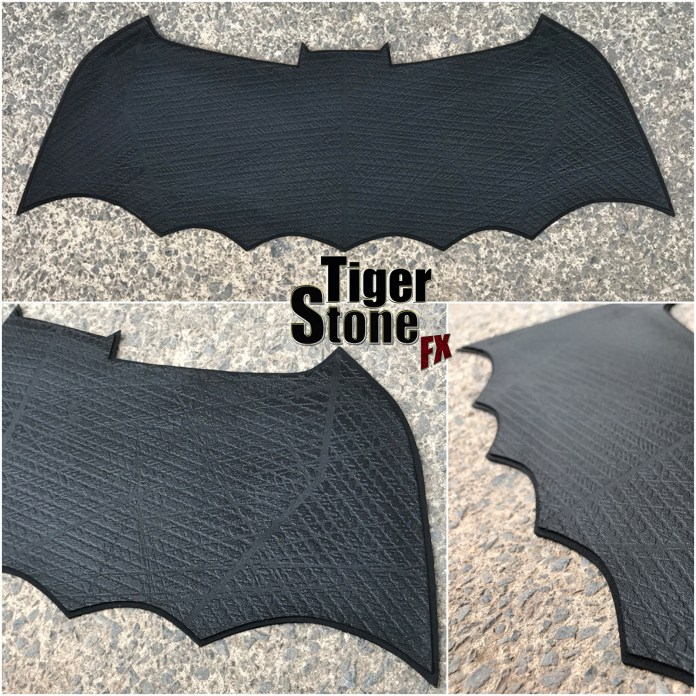 The dark knight returns batman v superman dawn of justice mashup chest emblem by tiger stone fx