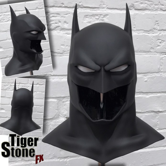 Justice League War Batman cowl mask - by Tiger Stone FX