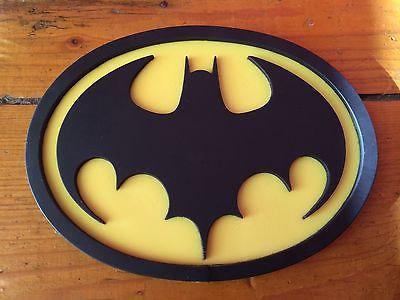 Batman 89 1989 emblem by Tiger Stone FX