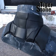 Batman Arkham Knight shoulder piece (back view) made by Tiger Stone FX