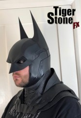 Batman Arkham Knight cowl (3 piece set) by Tiger Stone FX (side 3)