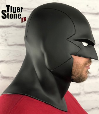 Red Robin cowl earless comic cowl Space Ghost Midnighter etc - made by Tiger Stone FX (side 2)