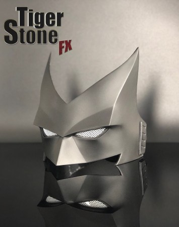 Batwoman mask for your cosplay costume -- made by Tiger Stone FX