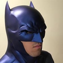 Sebby Friend with Tiger Stone FX Rebirth Batman cowl