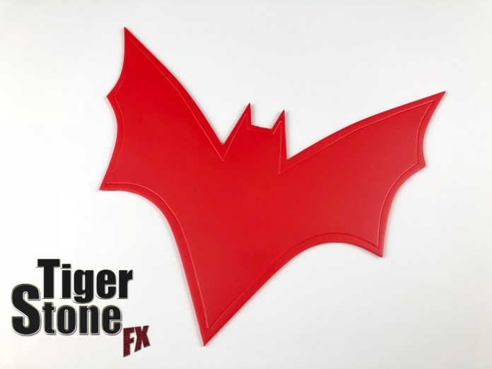 Batwoman chest emblem for your cosplay - made by Tiger Stone FX