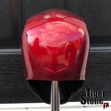 Red Hood helmet by Tiger Stone FX (Back view)