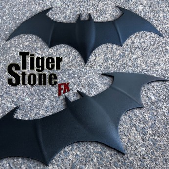 Justice League War animated movies Batman inspired chest emblem symbol logo -- made by Tiger Stone FX