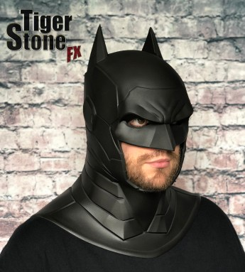 New armored Batman cowl - by Tiger Stone FX