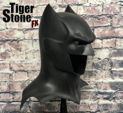 GD Batman cowl (side) -- original design (and made) by Tiger Stone FX