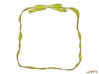 webデザイン素材:フレーム;ネットショップのバナー素材に使えるリボンのフリー素材
