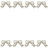 フリー素材:バナー・アイコン:200pixサイズ;ガーリーなリボンのwebデザイン素材