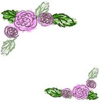 ネットショップ、バナー広告のwebデザイン素材::大人可愛いピンクの桜の春らしいイラストのフリー素材。アイコン(twitter,mixi,ブログ)制作に。