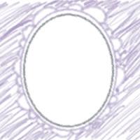 ネットショップ、バナー広告のアイコンのwebデザイン素材:ガーリーな青紫の花びらみたいなフレームのアイコン(twitter,mixi)のwebデザインに(200×200pix)