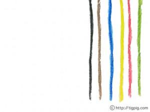 森ガール風の水彩の虹みたいな色遣いのガーリーなストライプ模様;640×480pix