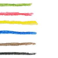 アイコン(twitter)のフリー素材:大人可愛い水彩の虹色のストライプのライン;200×200pix