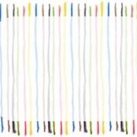 フリー素材:フレーム;シンプルで大人可愛いカラフルな水彩色鉛筆のストライプの飾り枠;640×480pix