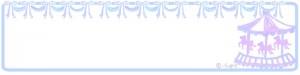 クリスマス,バレンタインのwebデザインに使えるメリーゴーランドとリボンのヘッダー用フリー素材:800×200pix
