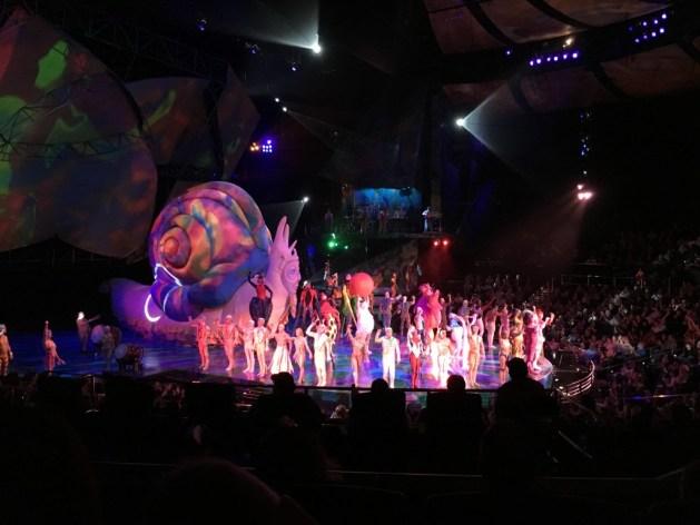 Cirque du Soleil Mystere in Las Vegas