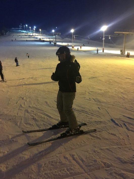 skiing kivioli