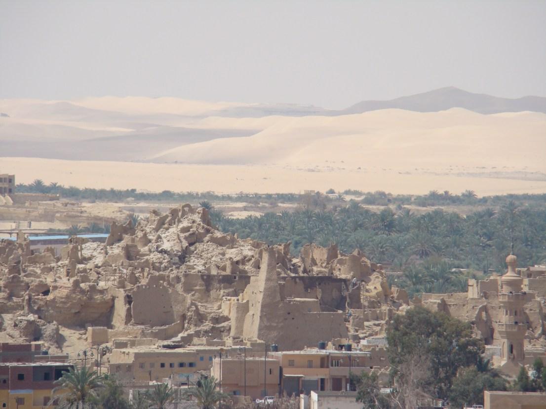 siwa oasis in sahara desert