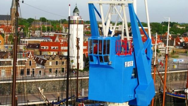 Havenkraan van Harlingen - Netherlands