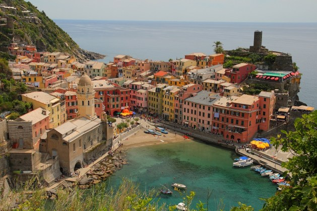 2 Weeks Italy France itinerary - cinque terre