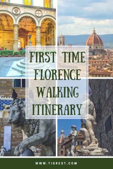 First time in Florence - walking itinerary #florence #italy #itinerary #1 day