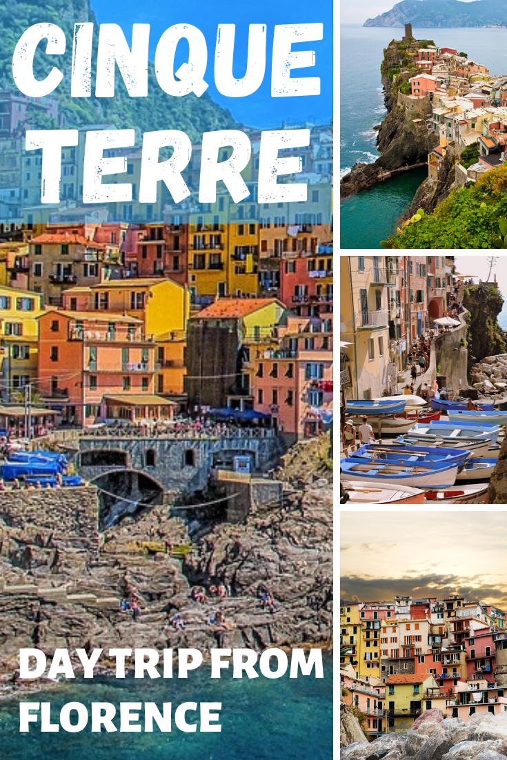 Cinque Terre day trip from Florence Italy