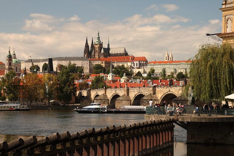Prague walking route