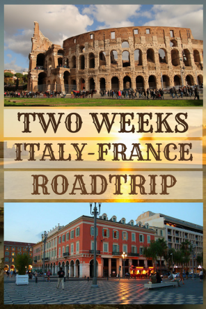 2 Weeks #italy #France #Itinerary