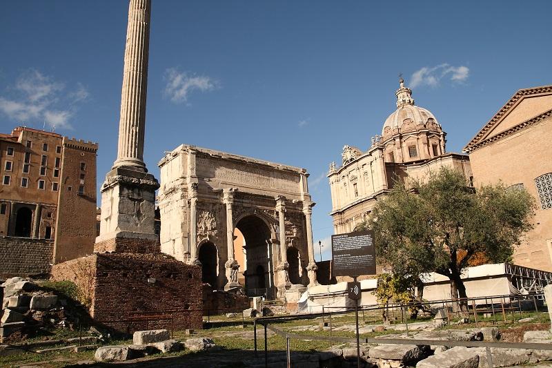 3 Days Rome Itinerary - Roman Forum