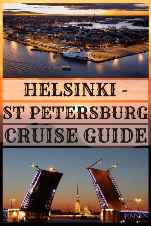 Helsinki - St Petersburg cruise guide #helsinki #st petersburg, #ferry #cruise #guide #russia #finland #no visa #visa free