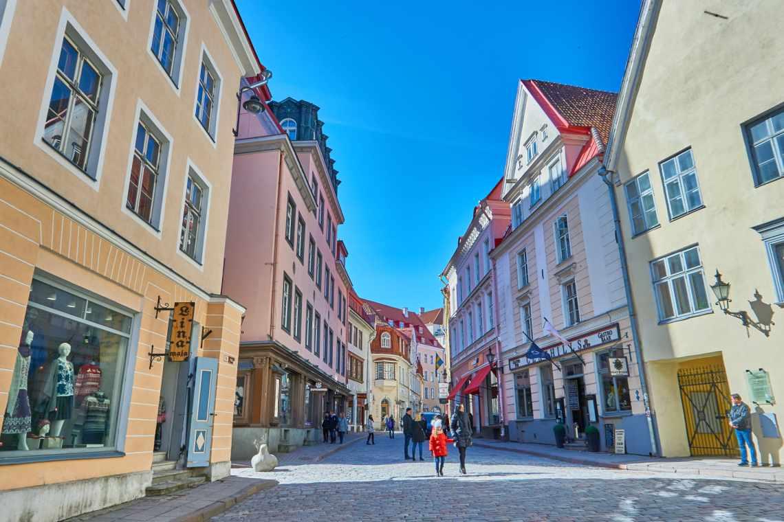 one day in tallinn estonia
