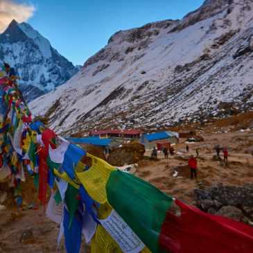 Annapurna basecamp trek – Dovan, MBC, ABC, Djinu hot springs