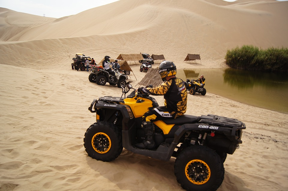 Hurghada quad safari in the desert