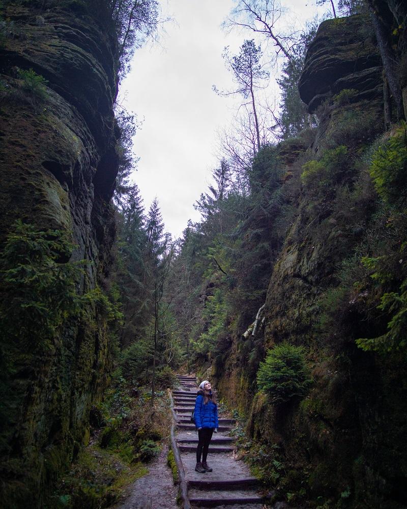 Saxon Switzerland National Park swedish holes crop