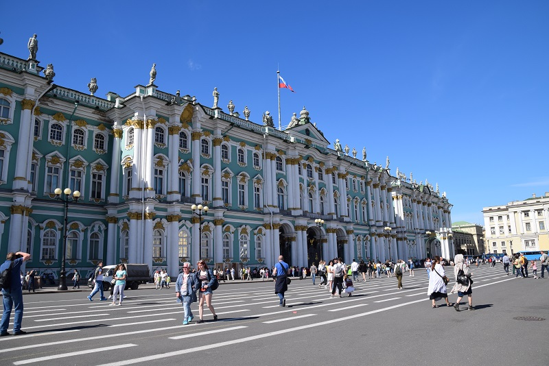 Hermitage State Museum in Saint Petersburg