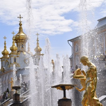 Peterhof day trip from Saint Petersburg without guide