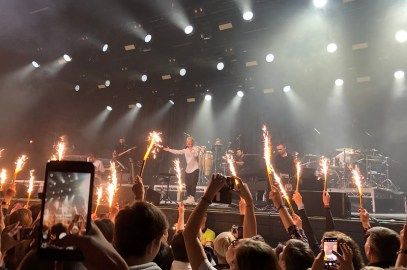 concert in A2 club Saint Petersburg