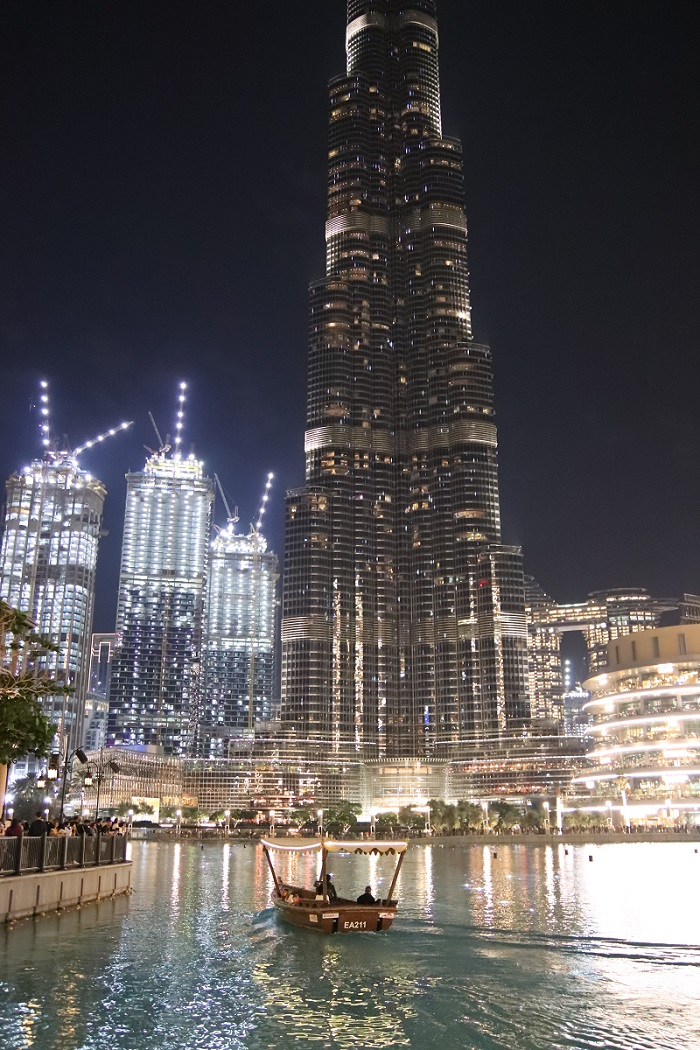 Burj Khalifa, Dubai Mall and Dubai Fountain