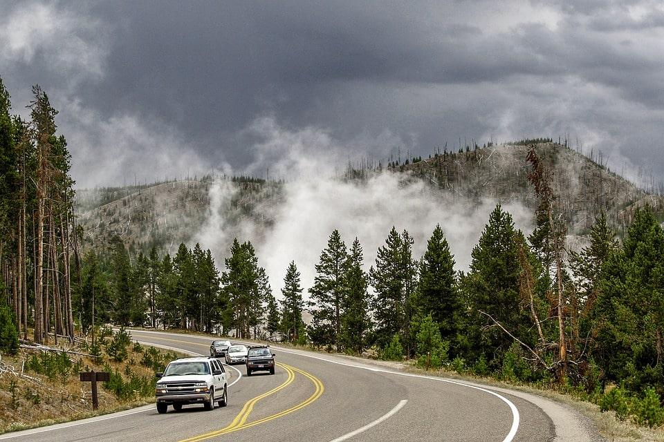 Yellowstone Itinerary 4 days road